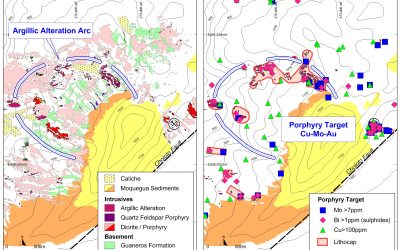 Important copper porphyry target is identified in Chololo project (12-07-2017)