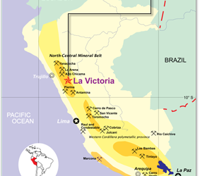 Eloro Resources and EHR Resources start joint venture in La Victoria project  (09-08-2017)