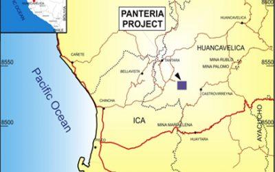 First Quantum drills 3,345 m. at project Panteria (24/01/2018)