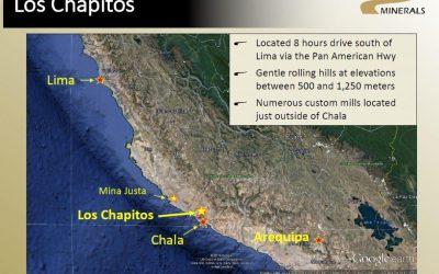 Camino Minerals intercepta 0.37% Cu sobre 18.5 metros en Los Chapitos