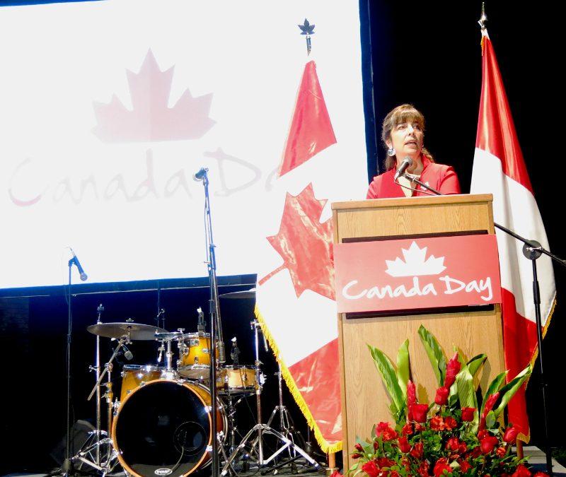 En el 151 Aniversario de Canadá –1º Julio 1867