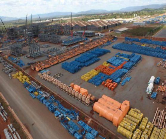 BRASIL: Vale evalúa expandir proyecto de hierro S11D