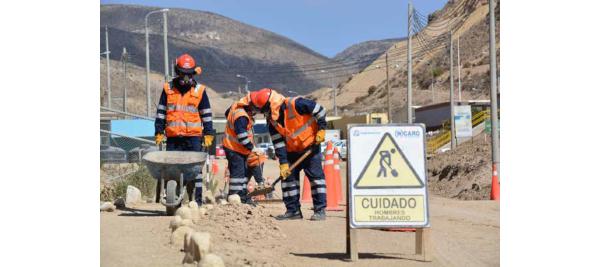 Cosapi y Epsa iniciaron labores de movimiento de tierras en Quellaveco