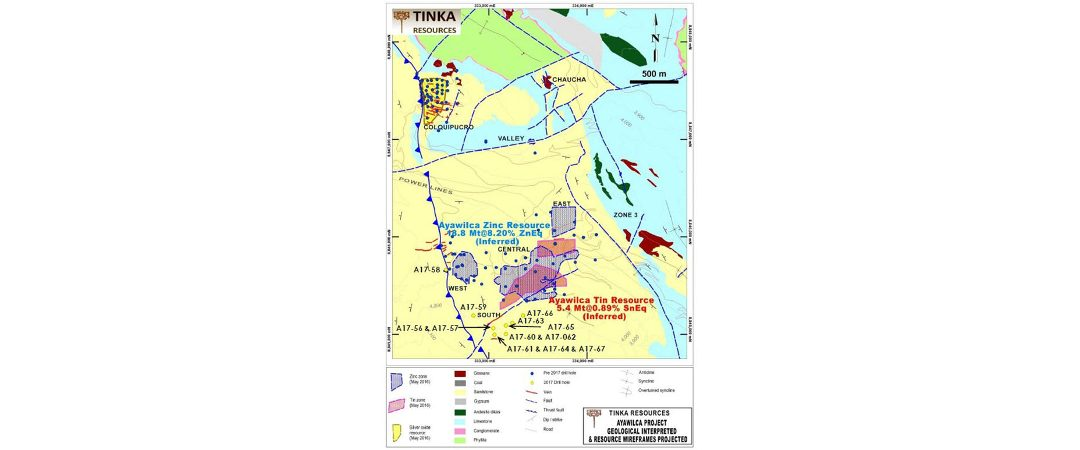 Tinka inició programa de perforación de 10,000 m. en Awawilca