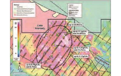Descubren nueva zona de cobre en proyecto Los Chapitos