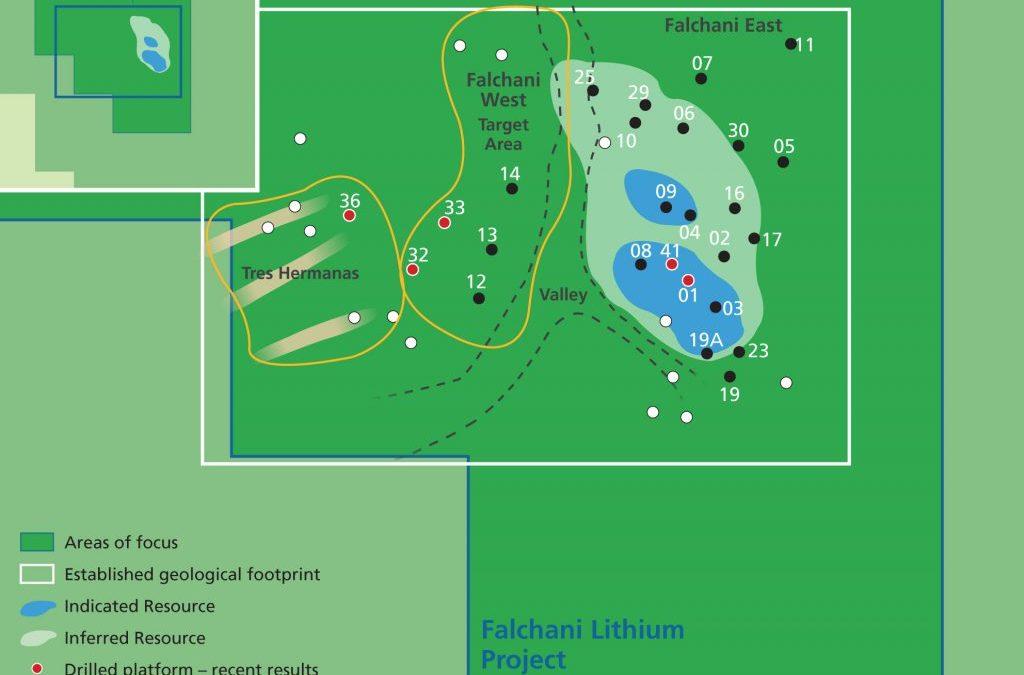 Plateau Minerals proyecta exportar litio a partir de 2021