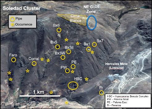 Más brechas pipe en Aija: Chakana inicia 3ª fase de perforaciones en Soledad