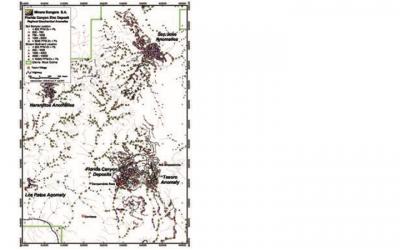 72% de taladros perforaron mineralización significativa en Florida Canyon en 2019