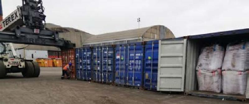 A.I.S. Resources despacha 150 TM de manganeso de alta calidad a China