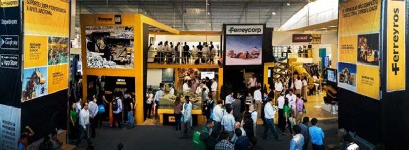 RUMBO A PERUMIN34Ferreyros y nueve empresas de la corporación Ferreycorp compartirán el mayor stand empresarial de PERUMIN
