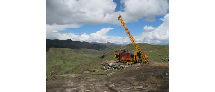 Tinka intercepta 5,7 m @ 32,6% Zn en Ayawilca