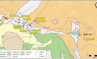 Minera Ares obtiene valores significativos de Au y Ag en proyecto Corina