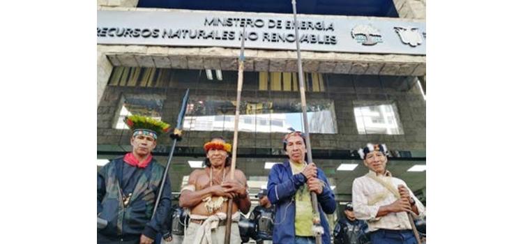 ECUADOR: SEMANA DE MOVILIZACIONES EN LA MINERIA ECUATORIANA
