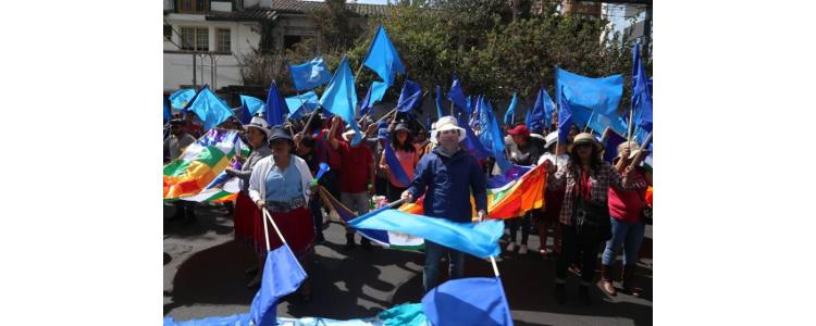 ECUADOR: CORTE CONSTITUCIONAL RECHAZA CONSULTAR A LA POBLACIÓN SOBRE ACTIVIDADES MINERAS